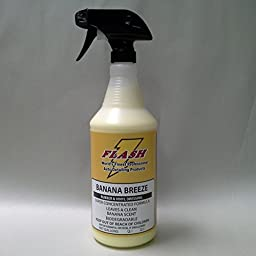Flash Banana Breeze Vinyl & Rubber Dressing 32oz