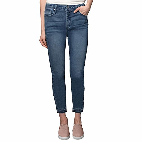 (Kenneth Cole Ladies' Stretch Ankle Skinny Jeans (Blue, 2))