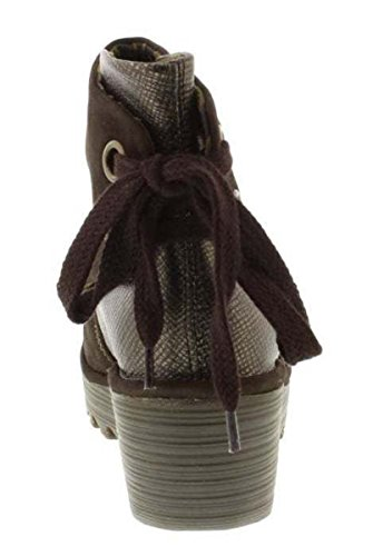 Bronzo Stivali Yama London Cioccolato Donne Suede Fly ZaIwq