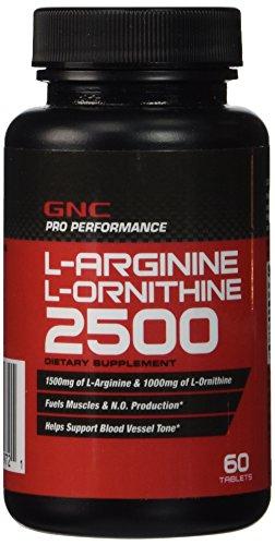 GNC Pro Performance L-Arginine L-Ornithine, comprimés, ea 60