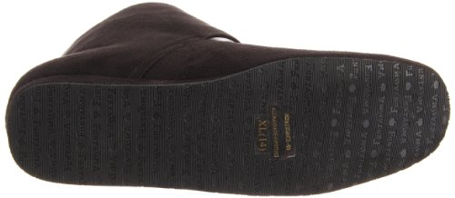 Funtasma Mens Rinascimentale Slip-on Mocassino In Microfibra Nera