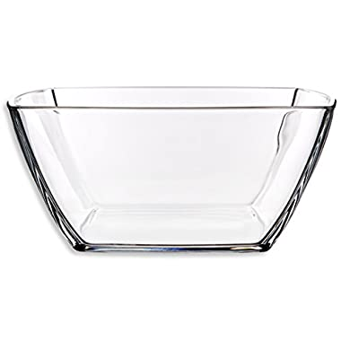 Home Essentials & Beyond 9128S Square Salad Bowl