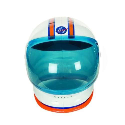 Charades Adult Astronaut Helmet Costume Accessory, white, One Size]()