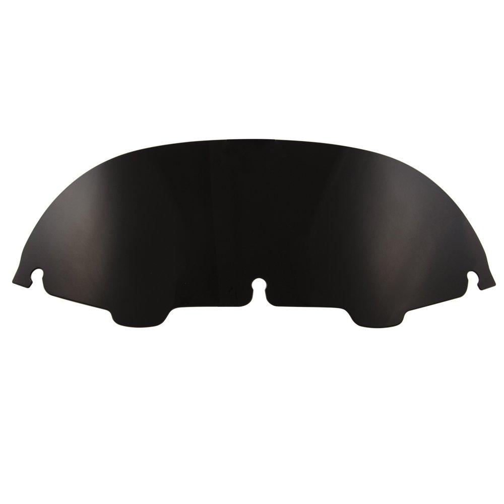Amazicha 7'' Black Batwing Windshield windscreen Fairing Wind Deflector for Harley Touring Electra Street Glide Trike 1996-2013