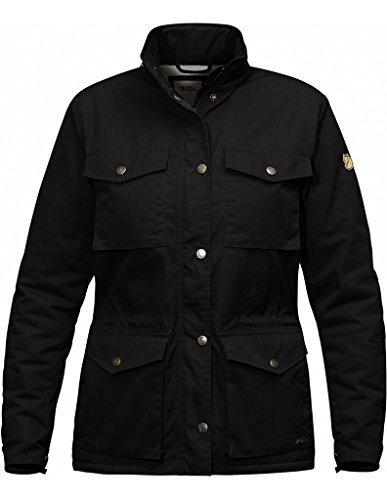 Fjällräven Räven Invierno Jacket Women-Chaqueta para exteriores calientes black 550
