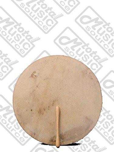 Style Crossbars (Bodhran Drum MULBERRY 18' Celtic Irish Style Bag/Tipper, Single Fixed Crossbar, B18MUL)