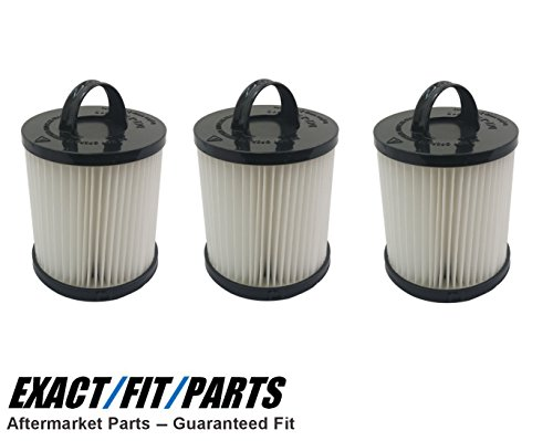 HEPA Filter for Eureka DCF-21, 68931, 67831, 68931A, Dust Cup Washable 3-Pack