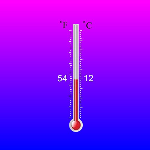 Temperature Activated Color Changing Thermochromic Paint (2 oz, Pink-Blue 54F/12C)