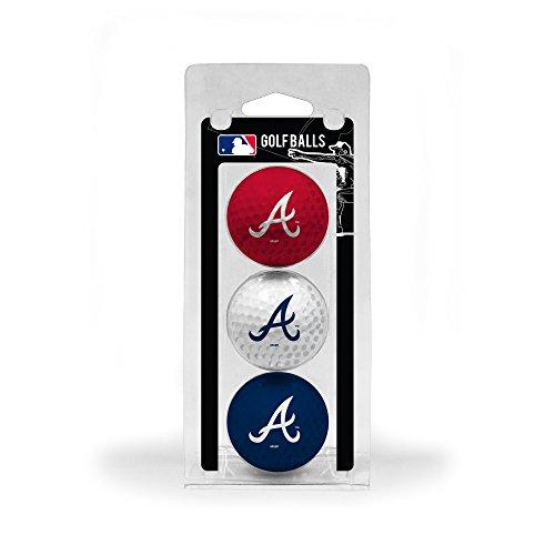 MLB Atlanta Braves 3 Golf Ball Pack