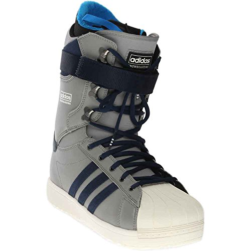 adidas Skateboarding  Men's The Superstar Charcoal Grey/Chalk White Snowboard Boot by adidas Originals