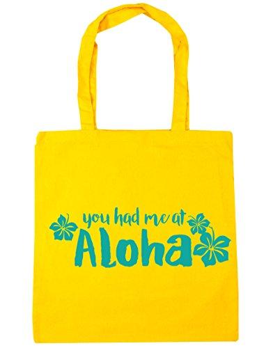 Gym Beach litres At Tote Yellow 10 Had Aloha x38cm 42cm HippoWarehouse You Shopping Me Bag Zq0x08O