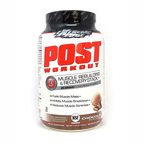 Bluebonnet Nutrition Extreme Edge Post Workout Powder, Chocolate Flavor, 2.25 Pound