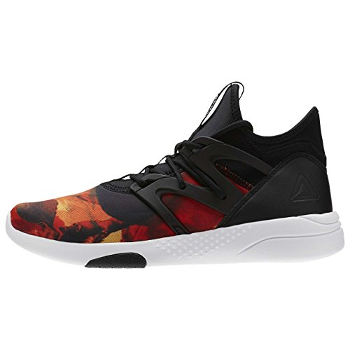 Reebok hayasu Ltd – Black/Fire Coral/Whit, multicolore, 6