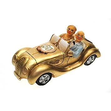 Amazonde Goldpaar Im Auto Goldhochzeitspaar 50