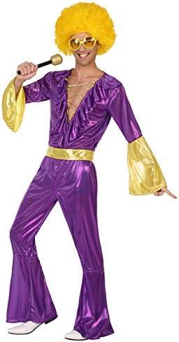 Atosa-38935 Disfraz Hombre Disco, Color Violeta, M-L (38935 ...