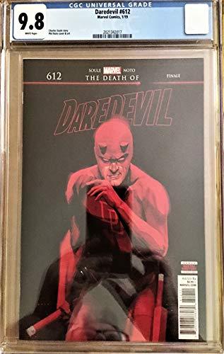 DAREDEVIL #612 CGC 9.8, PHIL NOLO COVER, THE DEATH OF DAREDEVIL - 2019, 1ST PRINT!]()