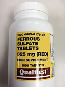 Ferrous Sulfate Tablets 325 Mg.