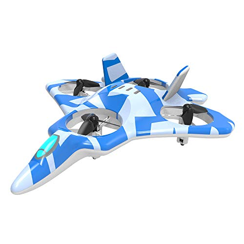 ZEGO F22 Remote Control Quadcopter Fighter Jet with 360° Fl