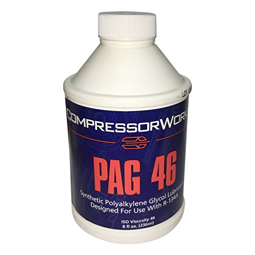 Hyundai Tiburon A/c Compressor (PAG 46 Synthetic Polyalkylene Glycol Lubricant (8 oz.) Made in USA)