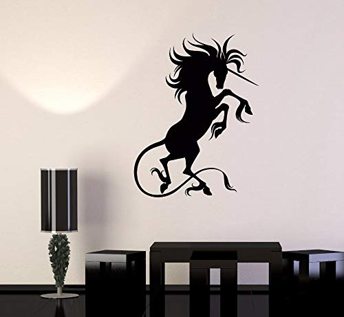 wanghan Fantastic Beast Fairy Tale Art Decor Decals House Decorate Unicorn Vinyl Wall Stickers Living Room Removable Wallpaper 42X56