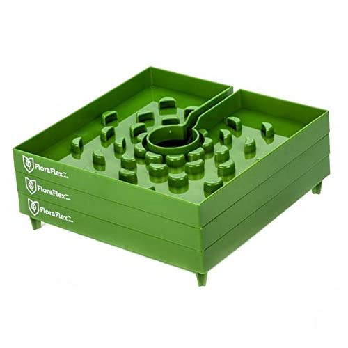 FloraFlex FloraCap Plastic Block Cover - 8-Inch - Pack of 3