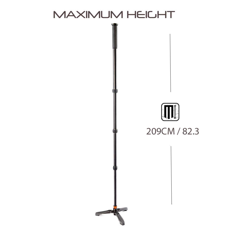 3 Legged Thing Punks Trent 80'' Monopod & Docz 3-Foot Stabilizer Stand