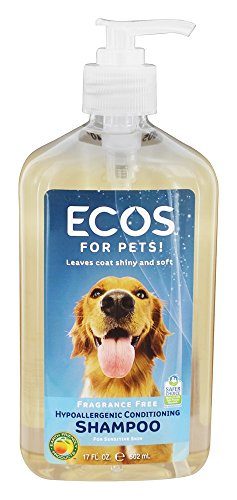 Earth Friendly Products Pet Shampoo Fragrance Free, 17oz