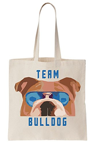 Tote Team Bulldog Artwork Bag Canvas rpvtp
