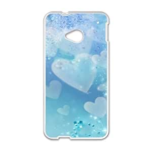 HTC One M7 Cases Cell phone Case Blue Sky Love Cxqjm Plastic Durable Cover