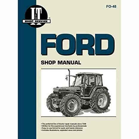amazon com all states ag parts i t shop manual ford 7840 7840 7740 rh amazon com