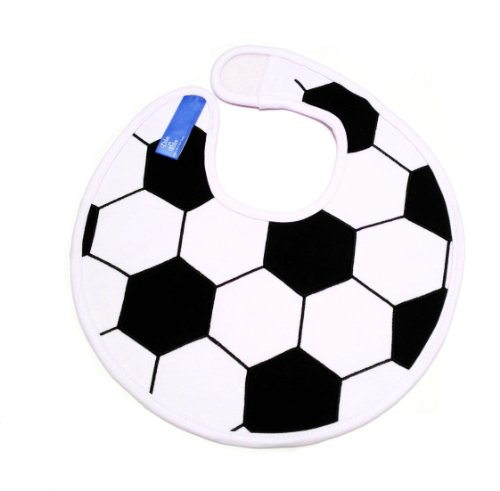 Embroidery 1 Soccer (Dibs on Bibs Soccer Ball Baby Bib)