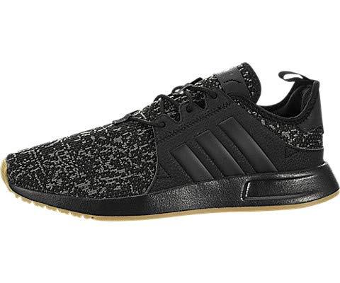 adidas Kids X-PLR J Sneaker ,Black,7