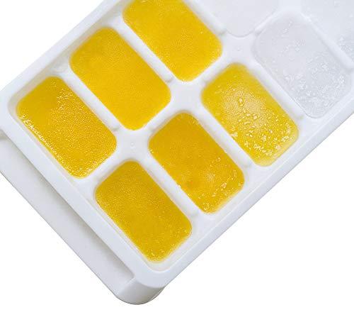 4 moldes de latón de hielo para manualidades con 16 cubos de cocina ...