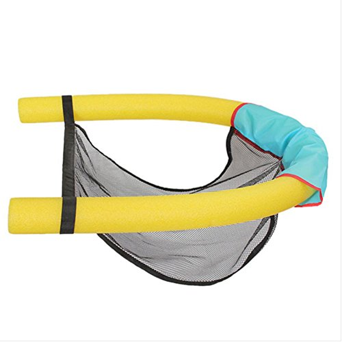 mk. park - Swimming Pool Seats Amazing Bed Buoyancy Stick Noodle Floating Chair Float (Yellow)
