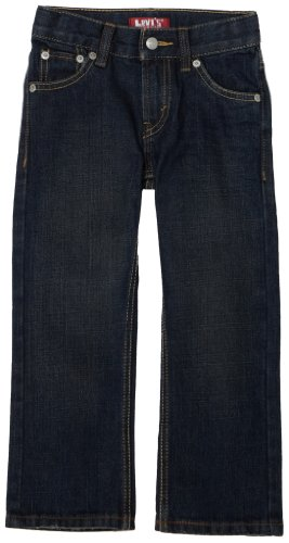 Levi's Little Boys' 514 Straight Fit Jeans, 3D Rigid, 4T