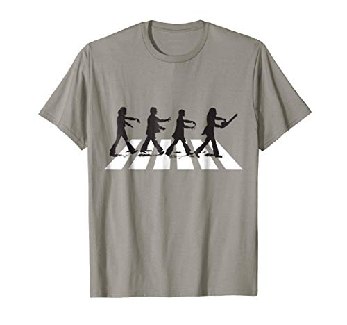 Zombie Road Crossing - Funny Halloween Costume Shirt