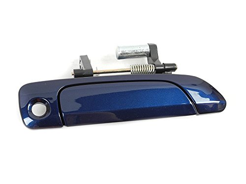 01-05 Honda Civic Front Right Outside Door Handle Blue B96P B3938 01 02 03 04 (Honda Civic Outside Front Door)
