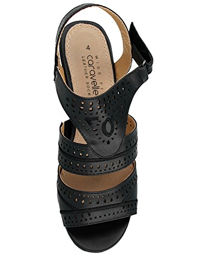 W Footwear Black femme bride a Foster nzqgOwaq