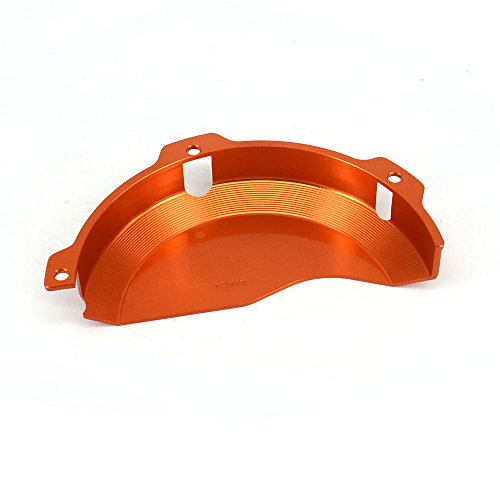 JFG RACING CNC Aluminum Billet Orange Engine Case Clutch Cover Guard Protector For KTM EXC 250 EXC 300 2009-2016 250SX 2009-2015 by JFG RACING (Image #1)'