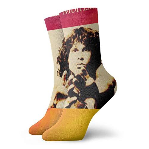 Robert A Gonzalez Jim Morrison Fun Socks-Colorful Funny Novelty Socks Pack,Art -