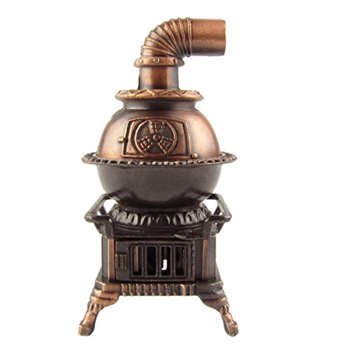 Treasure Gurus 1:12 Scale Model Miniature Pot Belly Stove Dollhouse Accessory Pencil Sharpener