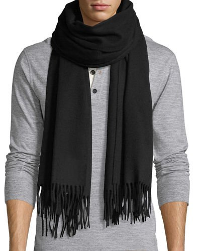 Canada Goose Men's Solid Woven Scarf