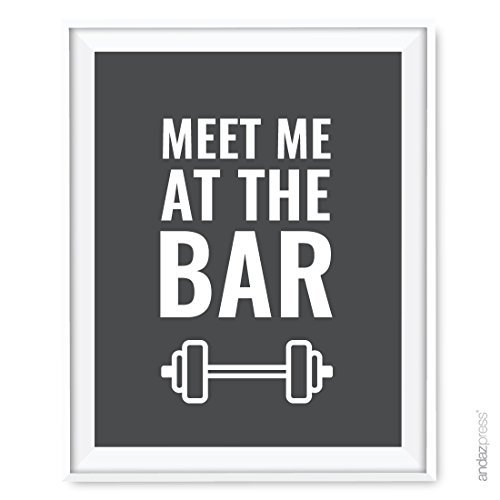 andaz-press-gym-fitness-wall-art-collection-85x11-inch-meet-me-at-the-bar-poster-print-1-pack-bodybu