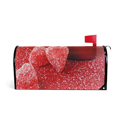 (Cute Valentine's Day Idea Mailbox Covers Magnetic Mail Letter Post Box Cover Standard Size -)