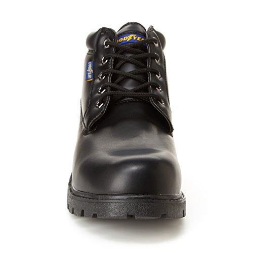 Mens Mason Oil Foot Resistant Bed Slip amp; Foam Goodyear Black Boot Memory Chukka fBBFwq