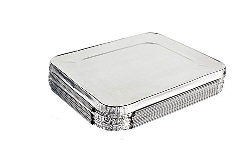 Mr. Miracle Half Size Foil Steam Lids - 30 Count by Mr Miracle (Image #1)