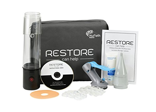 New!! Restore Can Help ED Pump Medical Device for erectile dysfunction (Combo Kit)