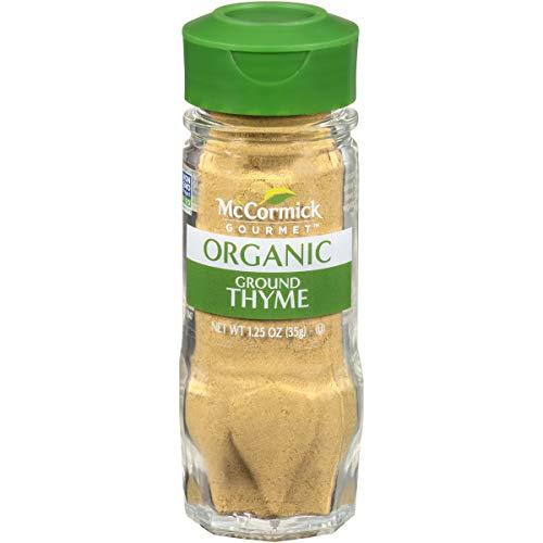 McCormick Gourmet Organic Ground Thyme, 1.25 oz