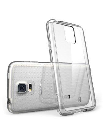 Galaxy S5 Case, i-Blason Scratch Resistant Hybrid Clear Case/Cover with TPU Bumper for Samsung Galaxy S5 (Clear)