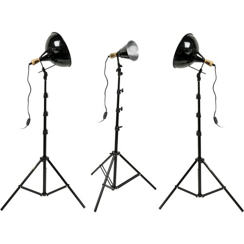 (Impact Tungsten Three-Floodlight Kit with 8' Stands)